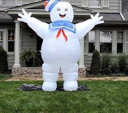 Wholesale Giant Candy - Halloween Ghostbusters character advertising decoration inflatable cotton candy giant for celebration