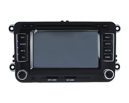 Wholesale Dvd Amarok - 2 din car dvd player with wifi aux iPhone usb sd bt for VW Jetta golf passat sagitar polo