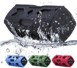Wholesale Speakers Fedex - Waterproof Bluetooth Speaker NFC 3600mAh Power Bank Shockproof Stereo Wireless Player Bicycle Cycling Audio Sound Subwoofer Box FEDEX fast