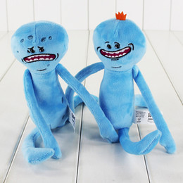 Wholesale Happy Free Games - 25cm 2 Styles Rick and Morty Happy & Sad Plush Stuffed Doll Plush Toy Kids Cartoon Anime Toys Gift Free shipping retail