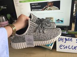 Chaussures de plongée livraison gratuite en Ligne-2016 kanye west bottes tortue colombe bottes hommes basket-ball marche shos livraison gratuite taille 36-46 chaussures kanye
