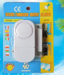 Wholesale Wireless Door Entry - Wireless Home Door Window entry Burglar DIY Safety Security ALARM System Magnetic Sensor home safety