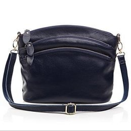 Wholesale Pandora Body - 2016 New Genuine leather Women handbag female shoulder messenger bags Cross body leather bag Shell Pack BH-8237