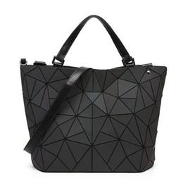 Wholesale Laser Cross - New Bao Bao bag Women Luminous sac baobao Bag Diamond Tote Geometry Quilted Shoulder Bags Laser Plain Folding Handbags Bolso