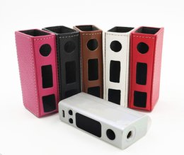 Wholesale Evic Casing - Colorful Evic Vtc Mini Case Leather Case Bag Sleeve Cover For Evic Vtc Mini 60watt Evic