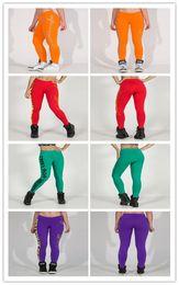 Wholesale Cotton Skeleton Leggings - Women European Fashion Street Wear Cotton blended Leggings skeletons side PROATHLETE printing Fitness Leggings Stretched yoga Pants 10