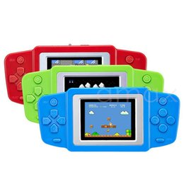 Wholesale Nes Lcd - Retro Game Console LCD Classic Handheld Game Player Built-in many Classic Games FC Video gamepad color screen game in stock with retail box