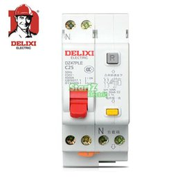 En gros-25A 1P + N DPNL disjoncteur RCBO DE47LE DELXI ? partir de fabricateur