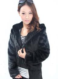 Wholesale leather mink coats women - 2016new winter fox fur vest faux fur vest women jacket mink outerwear paragraph Leather grass fur coat