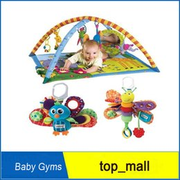 Wholesale Play Activity Gyms Baby - Tiny Love Lights 'n Music Baby 3D Activity Gym Gymini Super Deluxe Infant Play Activity Gyms baby gift toy