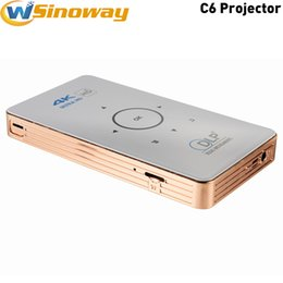 Wholesale Light Facebook - C6 Pocket Projector for Andriod Speed Light Projector for Wedding Room Schools 1GB 8GB 2GB 16GB Wholesale Price