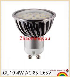 Wholesale Life Spot - 4W GU10 LED Light SMD5050 Ampoule LED Spotlight Bulb 110V 220V Dimmable Aluminum Long Life Span Lampada LED Spot Light