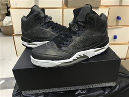 Wholesale B Bones - 2017 Air Retro 5 Premium HC Heiress Metallic Field Basketball Shoes Black Black-Light Bone Top Quality Men Women 5s Sport Sneakers