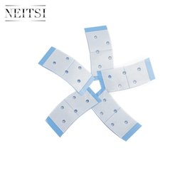 Wholesale Walker Tape - Neitsi 18pcs bag Entenda-Bond Mini Blue Short Tape Adhesive Double Side US Walker Tape For Lace Wigs & Toupees Fast Shiping