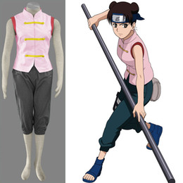 New Arrival Anime COS Naruto Tenten Generation Polyester Cosplay Costume  Cartoon Character Theme Costume Halloween Clothing
