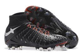 Wholesale Best Selling Shoes - Best Sell Hypervenom Phantom III 3 DF FG Football Boots Hypervenom Phantom III Soccer Shoes Man Shoes Outdoor Football Cleats Shoes