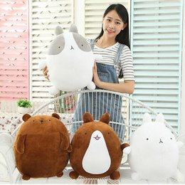 Wholesale Wholesale Valentines Day Teddy Bears - Wholesale-1pcs 25cm super cute rabbit molang potatoes bear plush toy doll, female valentines day gifts molang rabbit plush toy teddy bear