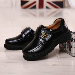 Wholesale Dancing Cow - Black leather shoes boy, leather shoes children's, shoes boy students new show trend of dance shoes