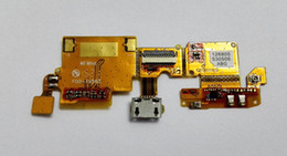 Wholesale For ZTE Blade V6 v6 Original Micro USB Connector Microfone FLEX Ribbon Charging Dock FLEX Cable