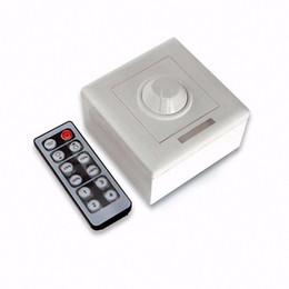 Wholesale Ir Remote Control Switch - Dimmer DC 12-24V 8A Wireless IR Remote control LED Light Dimmer For E14 E27 GU10 led light