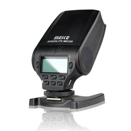 Wholesale Speedlite Ttl - Meike MK-320S HSS Master (GN32) TTL Flash Speedlite for Sony A7II A7S A7R