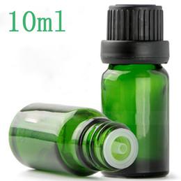 Wholesale Carton Shipping - Free DHL Shipping 768Pcs Carton 10ml Green Glass Dropper Bottles Wholesale Glass Dropper Bottles 10 ml for Eliquid Essential Oil