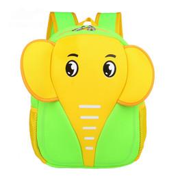 Sacchetto della cartella del bambino dei zainhi dello spalla online-2016 Cute Animal Zaino per bambini Sacchetti di spalla per bambini Satchel in neoprene di stoffa impermeabile