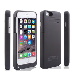 """Wholesale External Battery Cover Case - For iphone 8 Plus External Battery Backup Power Bank Charger Cover Case Powerbank case for iPhone 7 6 6s Plus 4.7"""" 5.5"""" inch."""