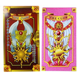 Wholesale Card Game Magic - Cartoon Sakura Card Captor Tarot Cards Mahou the Clow Anime Cardcaptor Sakura Cards Cosplay Playing Game Prop Cards Magic Card