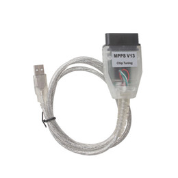 Wholesale Can Flasher - SMPS MPPS K-CAN 2014 V13.02 CAN Flasher Chip Tuning ECU Remap obd2 professional diagnostic Cable