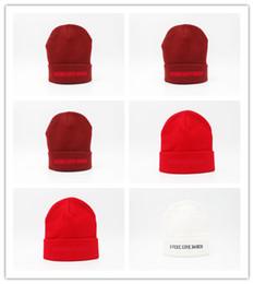 Wholesale Felt Beanies - Good Sale I Feel Like Pablo Beanie Fashion Unisex Embroidery Winter Beanies Skullies Knitted Hats Skull Caps for men women Free shipping