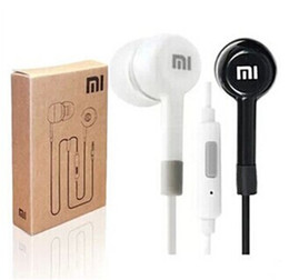 Wholesale Wholesale Xiaomi Mi2s - Xiaomi Piston 2 Earphones In-Ear With Remote Mic for Xiaomi Samsung MI2 Hongmi M3 MI2S MI2A Mi1S M1 MP3 Earbuds Mobile Phone Earphones