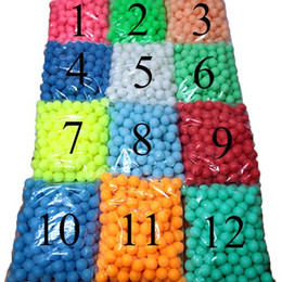 Wholesale Toy Baby Games - 150 Pcs bag Wholesale 40mm beerpong Game Home Decoration Colorful Ping Pong Balls Baby Toys