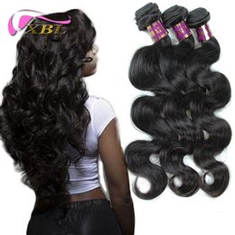 Wholesale Brazilian Remy Hair For Cheap - Brazilian Virgin Hair Body Wave Cheap Unprocessed Human Hair Weave Virgin Brazilian Hair Extension Hair Bundles For Wholesale