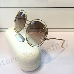 Wholesale Round Sun - New arrival woman fashion sunglasses CE114S women brand designer sunglasses come with box female eyewear round sun glasses