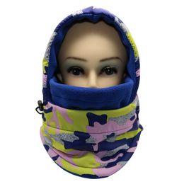 Wholesale Sky Cycling Helmet - Waterproof Thermal Fleece Neck Warmer Winter Balaclava Hat Hood Cycling Ski Face Mask Ear Flap Cap Scarf Women Sport Windproof Helmet