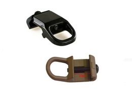Wholesale Rail Attachments - Hunting Accessories QD Steel Sling Mount Slings Buckle Plate Adapter Hook Attachment For 20mm Picatinny Rail Rifles