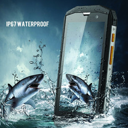Wholesale Smartphone Android Quad Core Rugged - Mobile Phone Rugged 4G Smartphone Watproof MANN ZUG 5S 1280x720 Pixel IPS Quad Core Android 4.4 1GB RAM 8G ROM Waterproof Dustproof