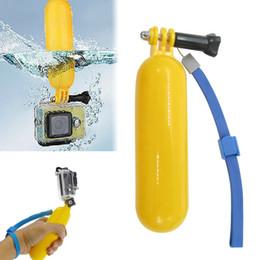 Wholesale Hand Grip Camera - For GoPro Bobber Floating Handheld Stick Hand Grip Monopod For Go Pro Hero 2 3+ 3 4 Sj4000 Sport Camera Accessories MOQ:50PCS