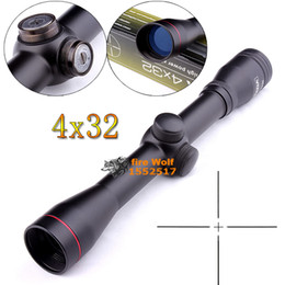 Wholesale Tactical Reticle Rifle Scope - 2016 NEW Tactical Optical Sight Diana 4x32 Magnum Plus Rifle Scope hunting scope Glass-reticle Parallax-adjustments