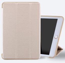 Wholesale Soft Leather Ipad Cover - Case for New iPad Pro 10.5 inch 2017 Soft silicone bottom+PU Leather Smart Cover Auto Sleep for Apple iPad Pro10.5