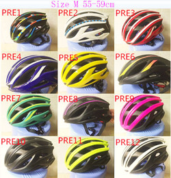 Wholesale Road Bike 59cm - OEM ODM Famous Brand Logo Bike Road MTB Aero Cycling Helemet Size M (55-59cm) 12 Colors Items Available for Selection