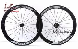 Wholesale Carbon Aero Wheelset - 20 inch bike carbon wheel, Full carbon Velosa super sprint 30 aero 451 carbon wheelset,38mm clincher folding bike wheel
