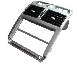 Aria peugeot online-Per Peugeot 307 metri centrale medio strumento di pannello vento nuovo pannello CD aria condizionata presa