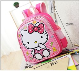 Wholesale Wholesale Princess Bags - New Children lovely cartoon princess design school bags baby cartoon character backpack little kids school bags 23*29 cm for 1~3Year baby