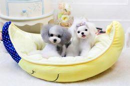 Wholesale Moon Pads - Creative New Design Moon Ship Pet Dog House Warm Soft Beds Cat Sleeping Bag Indoor Autumn Sofa 1PC