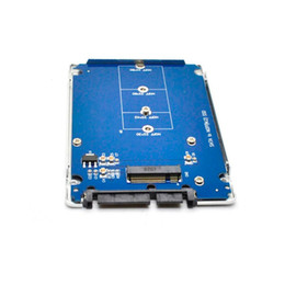 """Wholesale Ide Sata Case - New hot sale NGFF ( M.2 ) SSD to 2.5"""" SATA solid state drives Adapter M.2 NGFF SSD to SATA3 Convert Card with Plastic case"""