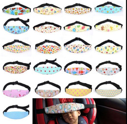 Wholesale Head Carriage - Baby Adjustable Nap Sleep Holder Belt Car Seat Fixing Band Strap Baby Carriage Bed Protective Belt Head Support Holder Sleeping Belt KKA2512