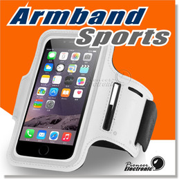 Wholesale Sport Armband Case Holder - For Iphone 7 ArmBand Case, Water Resistant Sports Armband with Key Holder for iPhone 7 Plus, Samsung Galaxy S7 S7 edge Note 5 Note 4