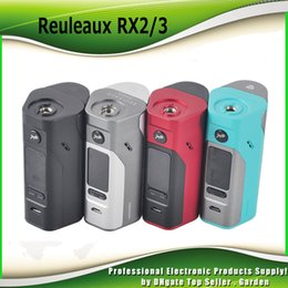 Wholesale original back cover - Original Wismec Reuleaux RX2 3 TC Mod 150W 200W Replaceable Back Cover for Two Three Cells 100% genuine RX 23 Box Mod DHL Free 2235010